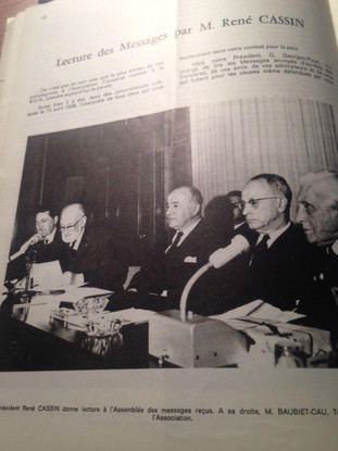 Assemblée Générale de l'Association Française pour les Nations Unies en 1961