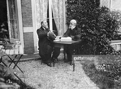 Léon BOURGEOIS et Paul ALLEL, autre fondateur de l'Association française pour la Société des Nations