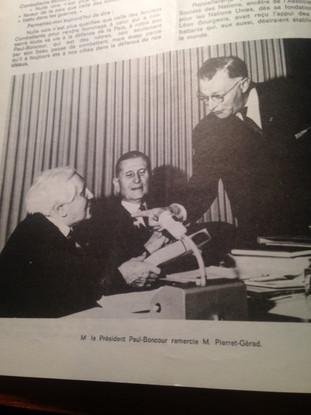 M. PAUL-BONCOUR et M. PIERRET-GERARD