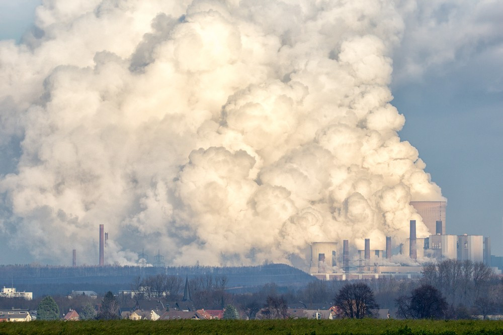Emissions from a brown coal power plant. Governments at the Paris climate conference agreed to reach net zero greenhouse gas emissions by the second half of the century. Image: Shutterstock