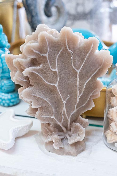 Candela profumata a forma di corallo marino alto