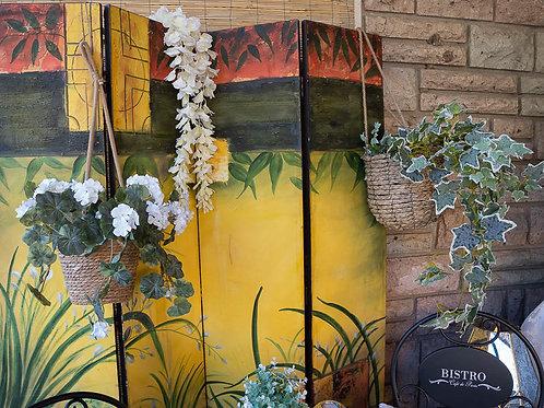 Cesti porta piante da appendere