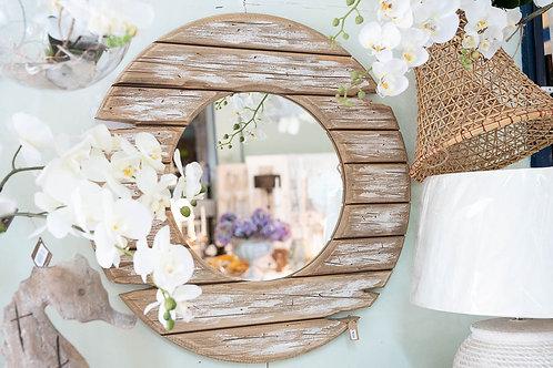 Specchio in legno vintage SEA