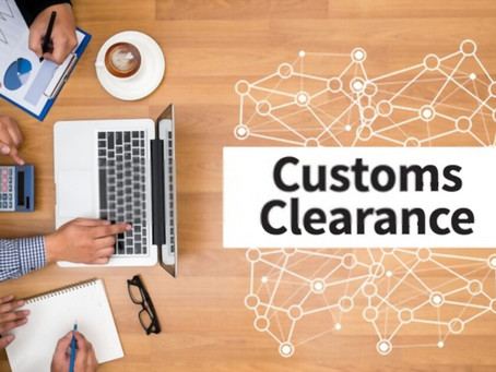 What is the customs clearance process?