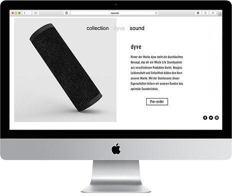 Dyve Homepage