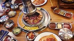 Our Korean barbecue restaurant trip last