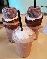 Nutella Doughnut freakshakes at Curiosit