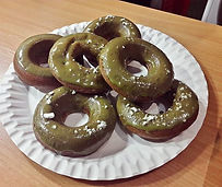 Our Matcha Donut's from yesterday's cook