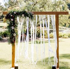 Wooden Bridal Arch