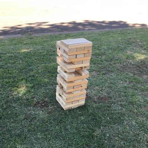 Lawn Games - Giant Jenga