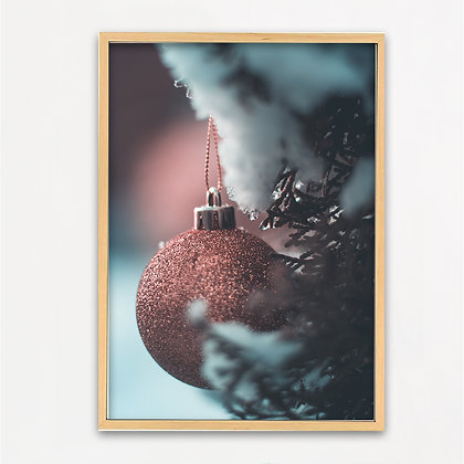 Poster 'Christmas decor' A4