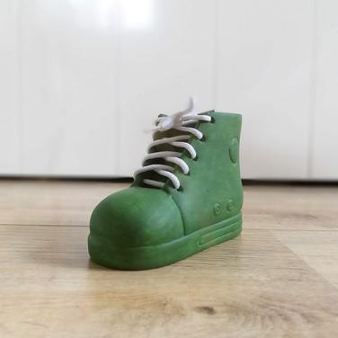 KOPERWERK_Spaarpot_Schoen groen.jpg