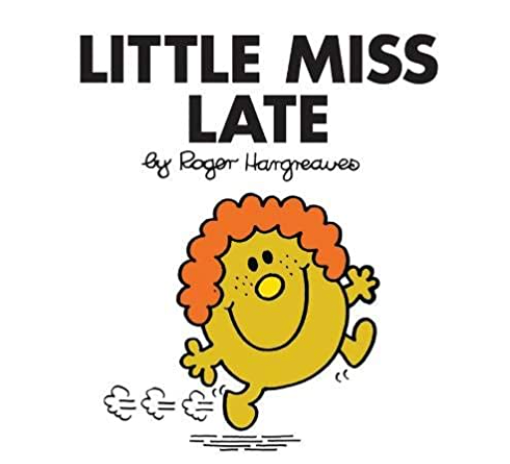 Little miss late mr man book