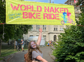 Curious about the world naked bike ride, Cardiff?