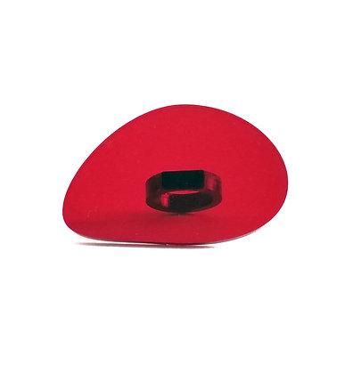 Πλέξιγκλας δαχτυλίδι Red#7