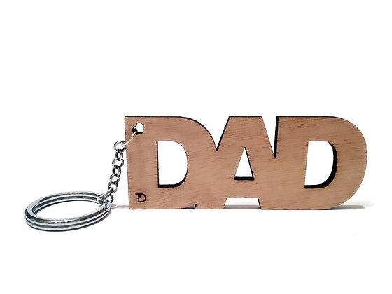 Ξύλινο μπρελόκ DAD