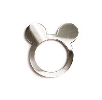 Ασημένιο δαχτυλίδι MICKEY MOUSE