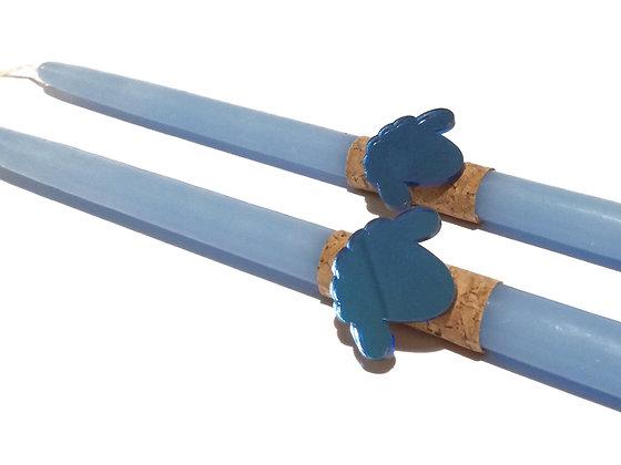 """ΛΑΜΠΑΔΑ """"BLUE LAMB"""""""