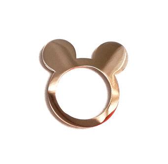 Επιχρυσωμένο δαχτυλίδι MICKEY MOUSE