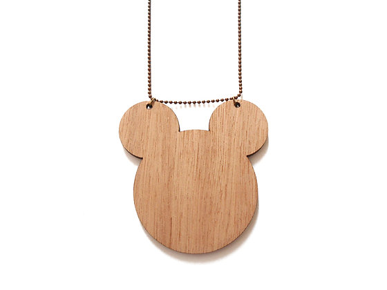 Wooden Mickey Mouse