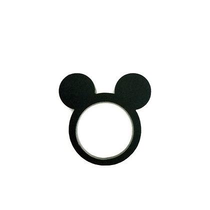 Πλέξιγκλας δαχτυλίδι Mickey Mouse Black