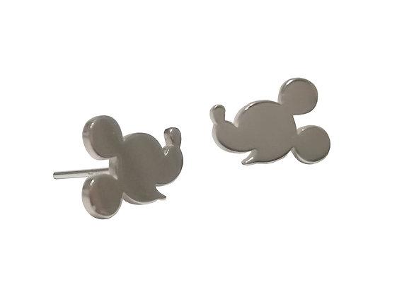 Ασημένια σκουλαρίκια MICKEY MOUSE #1