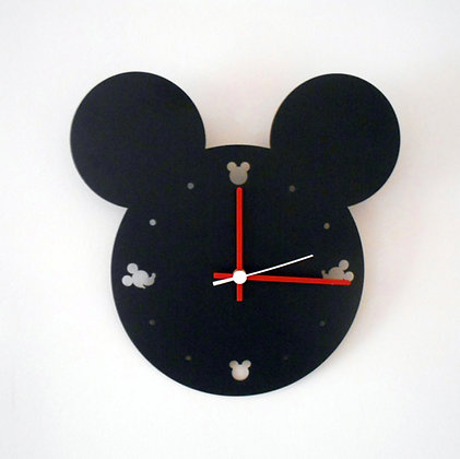 THE FAMOUS MOUSE WALL CLOCK