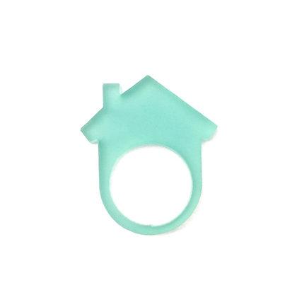 Πλέξιγκλας δαχτυλίδι Home Turquoise