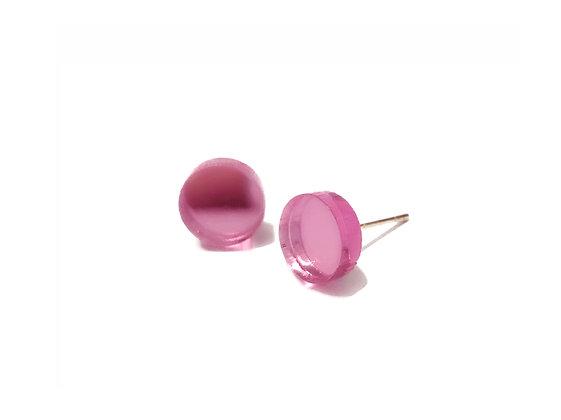 Πλέξιγκλας σκουλαρίκια SMALL PINK DOTS