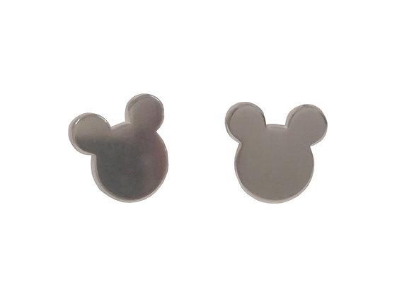 Ασημένια σκουλαρίκια MICKEY MOUSE #2