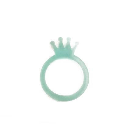 Πλέξιγκλας δαχτυλίδι Crown Turquoise