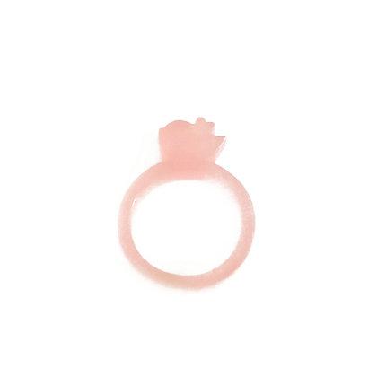 Πλέξιγκλας δαχτυλίδι Tweet Pink