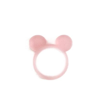 Πλέξιγκλας δαχτυλίδι Mickey Mouse Pink