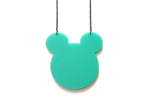 Turquoise Mickey Mouse