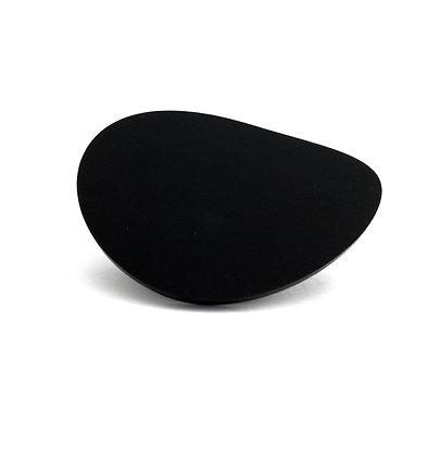Black Plexiglass Ring#9