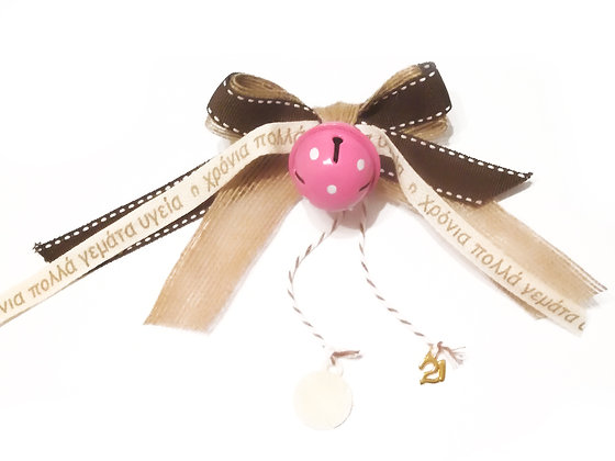 Christmas bell / pink