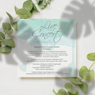 BAPTISM & WEDDING INVITATION