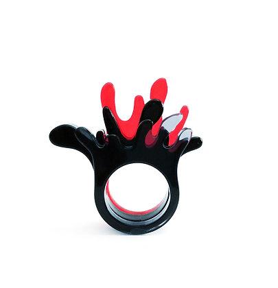 Πλέξιγκλας δαχτυλίδια Splash