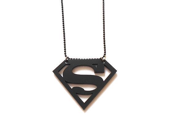 Πλέξιγκλας κολιέ Superman