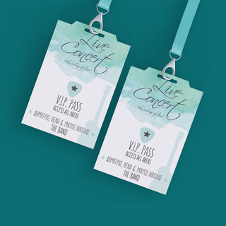 VIP ENTRY PASS TO WEDDING PARTY