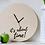 Thumbnail: Ξύλινο ρολόϊ τοίχου IT'S ABOUT TIME