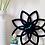 Thumbnail: Πλέξιγκλας ρολόϊ τοίχου DAISY