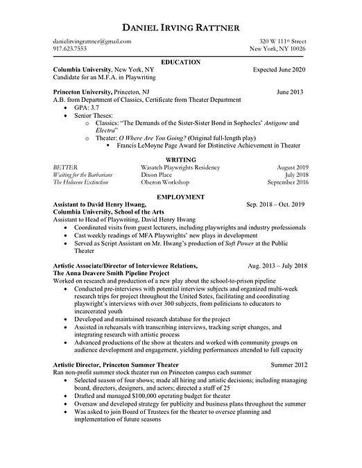 Daniel Irving Rattner Resume.jpg
