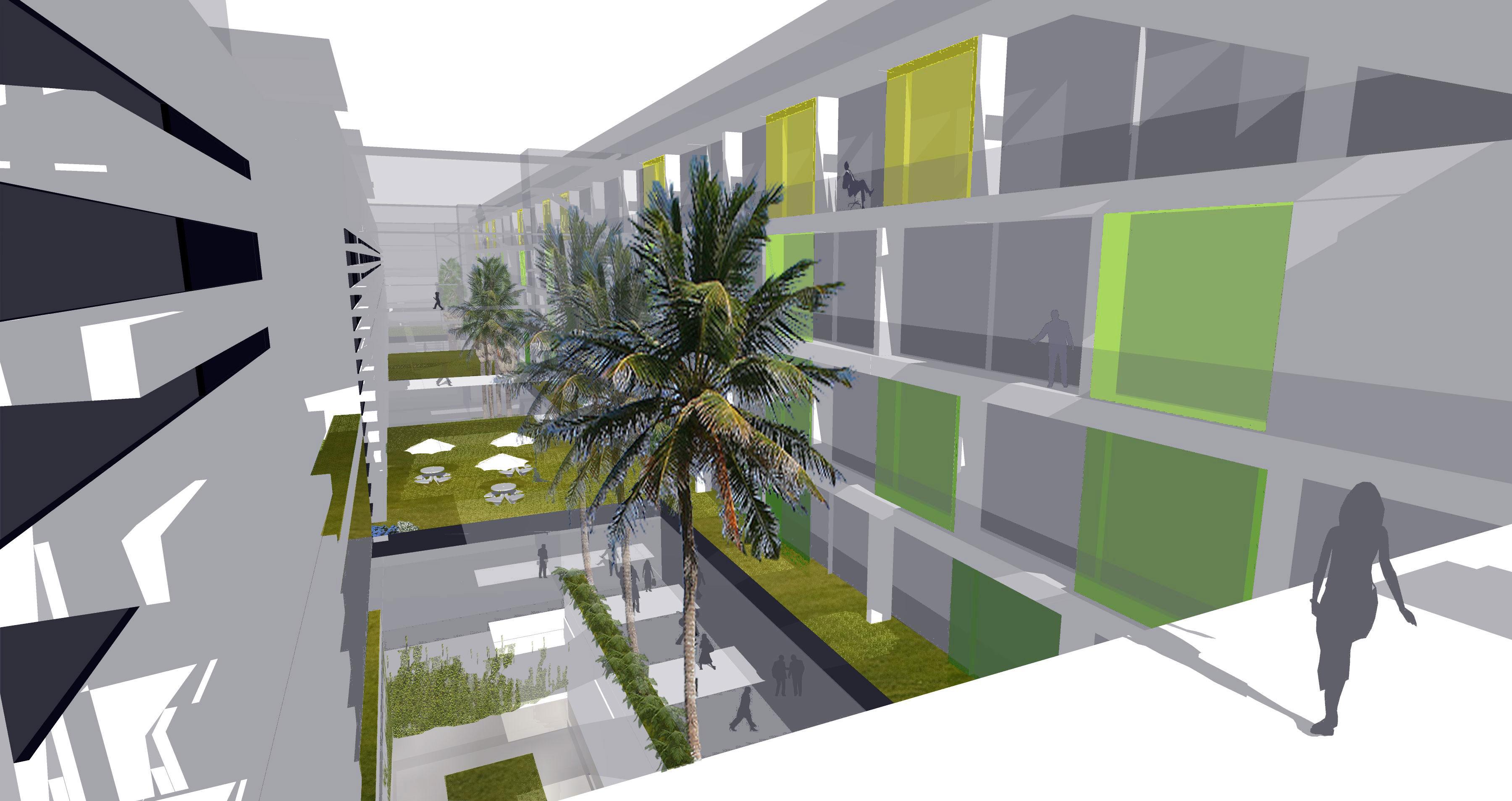 Boulevard and Atrium