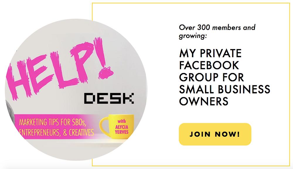 join help desk facebook group