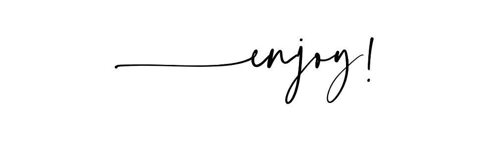 enjoy graphic