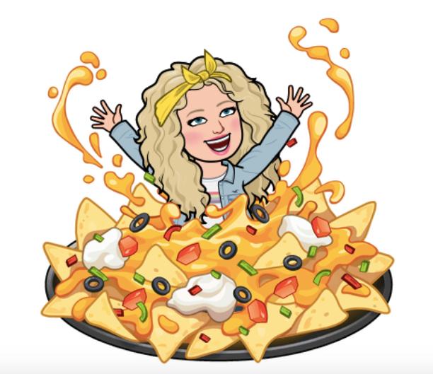 alycia yerves nachos bitmoji