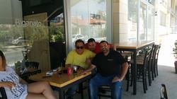 Vasilis Karas at Riganato Greek Grill in