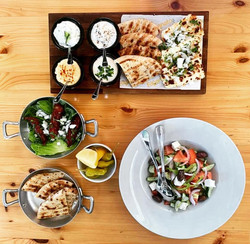 Salads, Starters and Dips