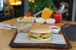 Fasting Menu - Shrimp Burger in Paphos